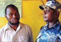 Jamal Kiyemban (left) previously won £1m compensation