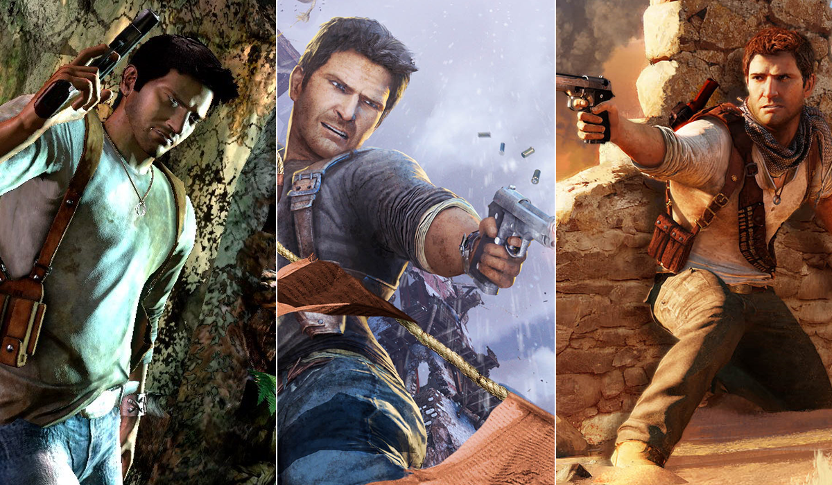 Uncharted Trilogy Nathan Drake