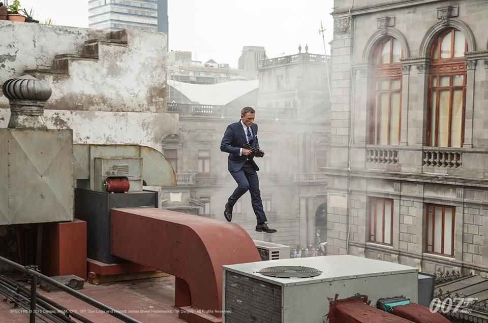 James Bond Spectre opening scene