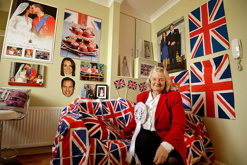 Britain S Royal Super Fan Eagerly Awaits Birth Of Will And