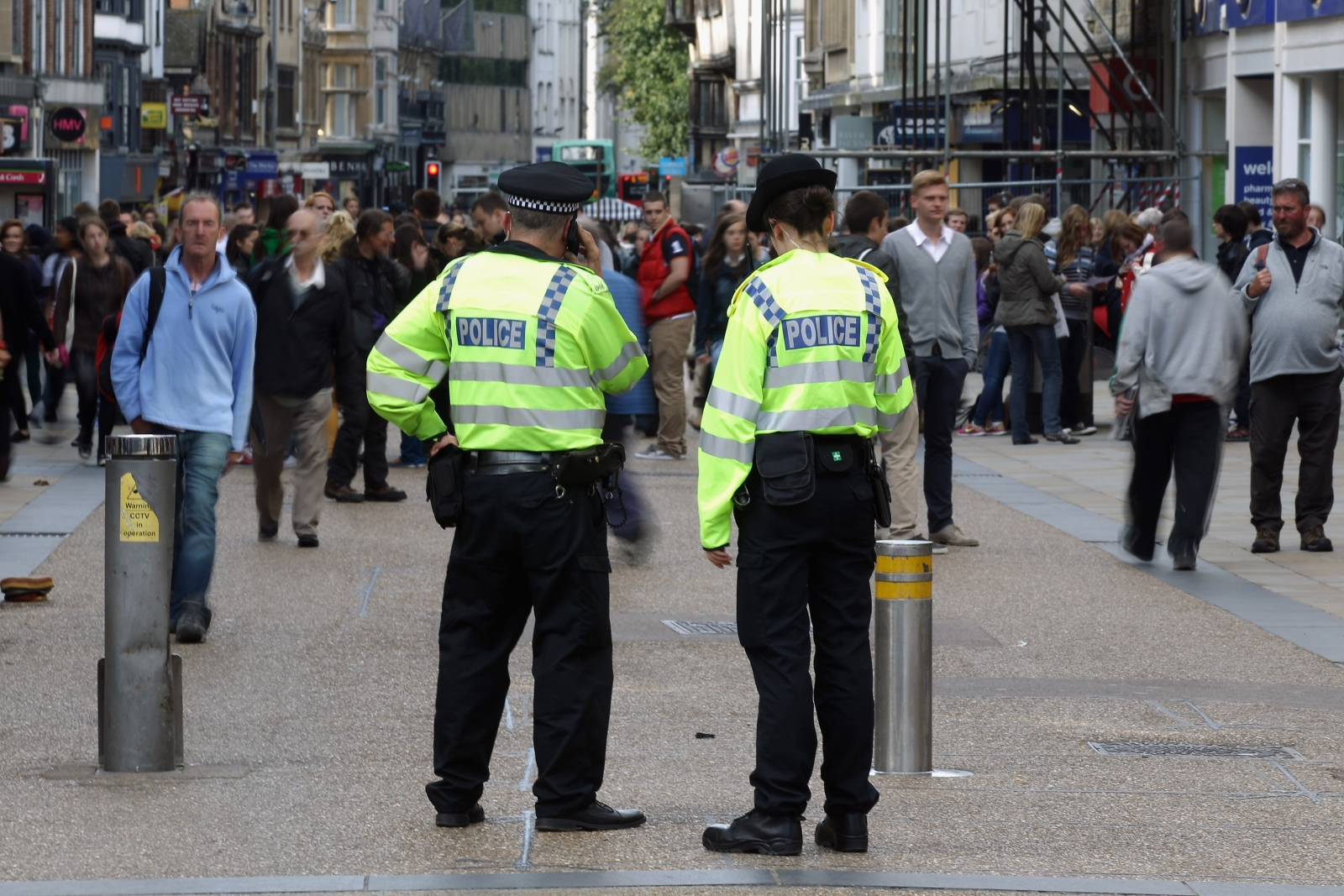 Uk Government Cutting Billions From Police Funding Without