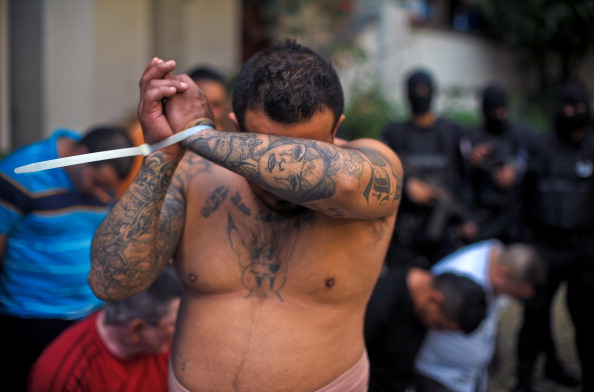El Salvador MS-13 gang