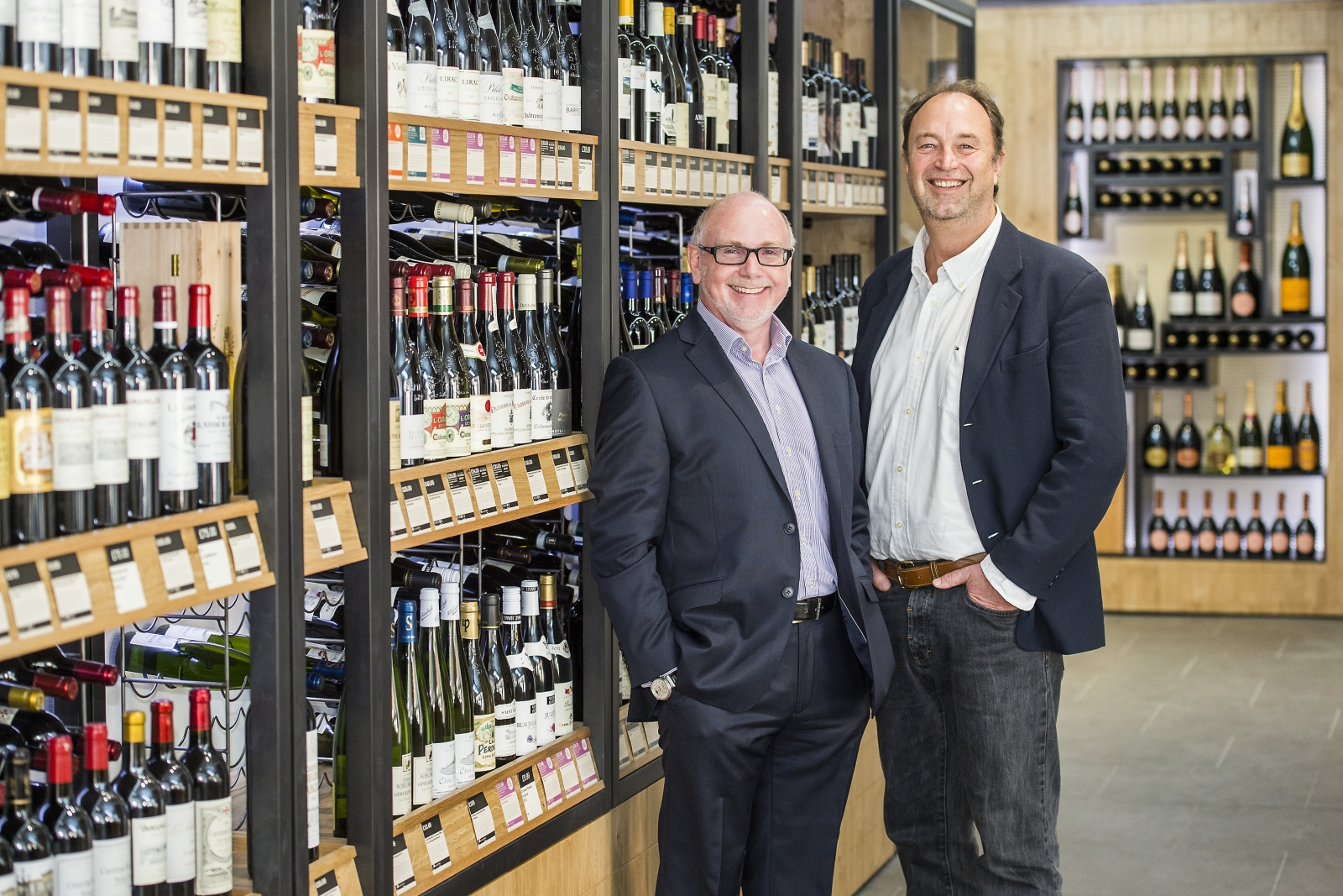 Phil Wrigley and Rowan Gormley