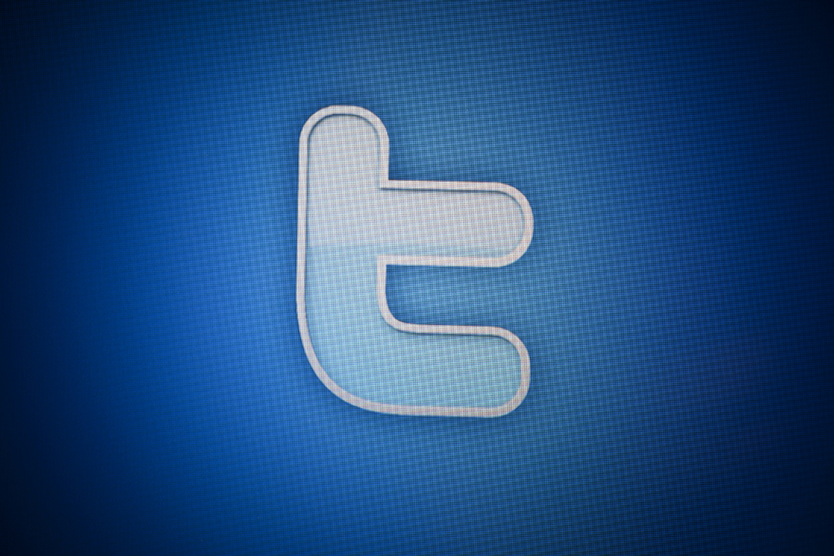 Twitter logo social media T icon
