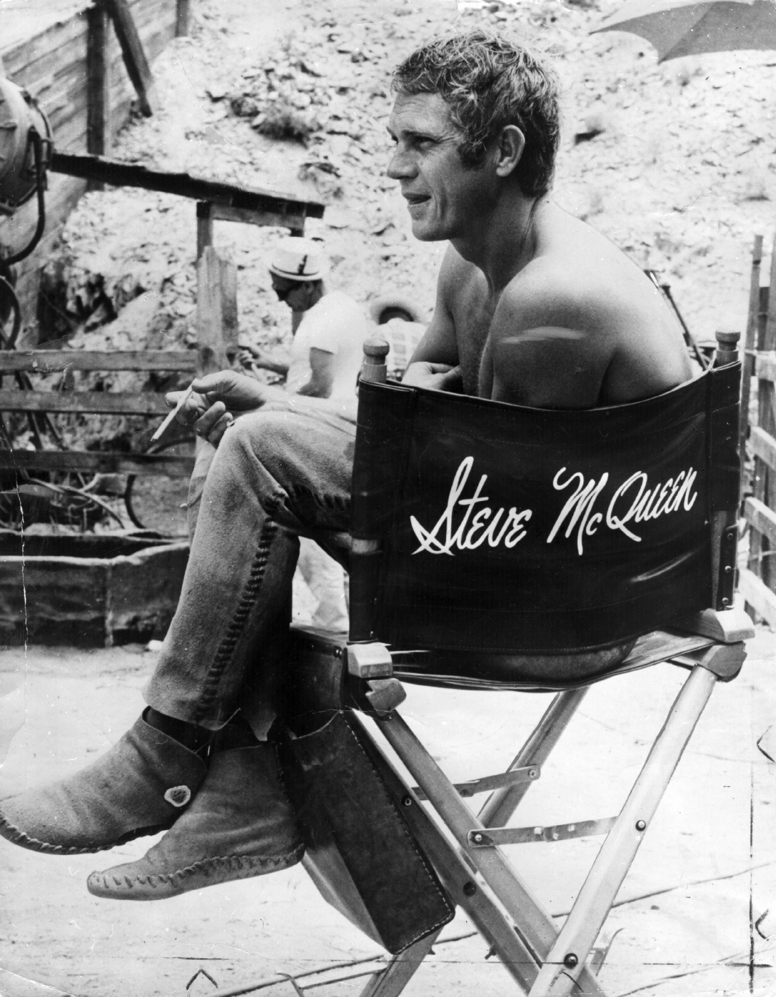 Screen legend Steve McQueen