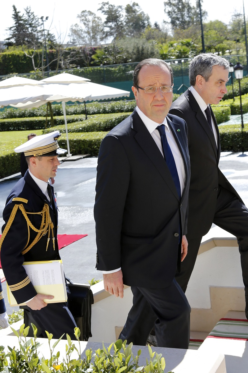 François Hollande and Laurent Stefanini