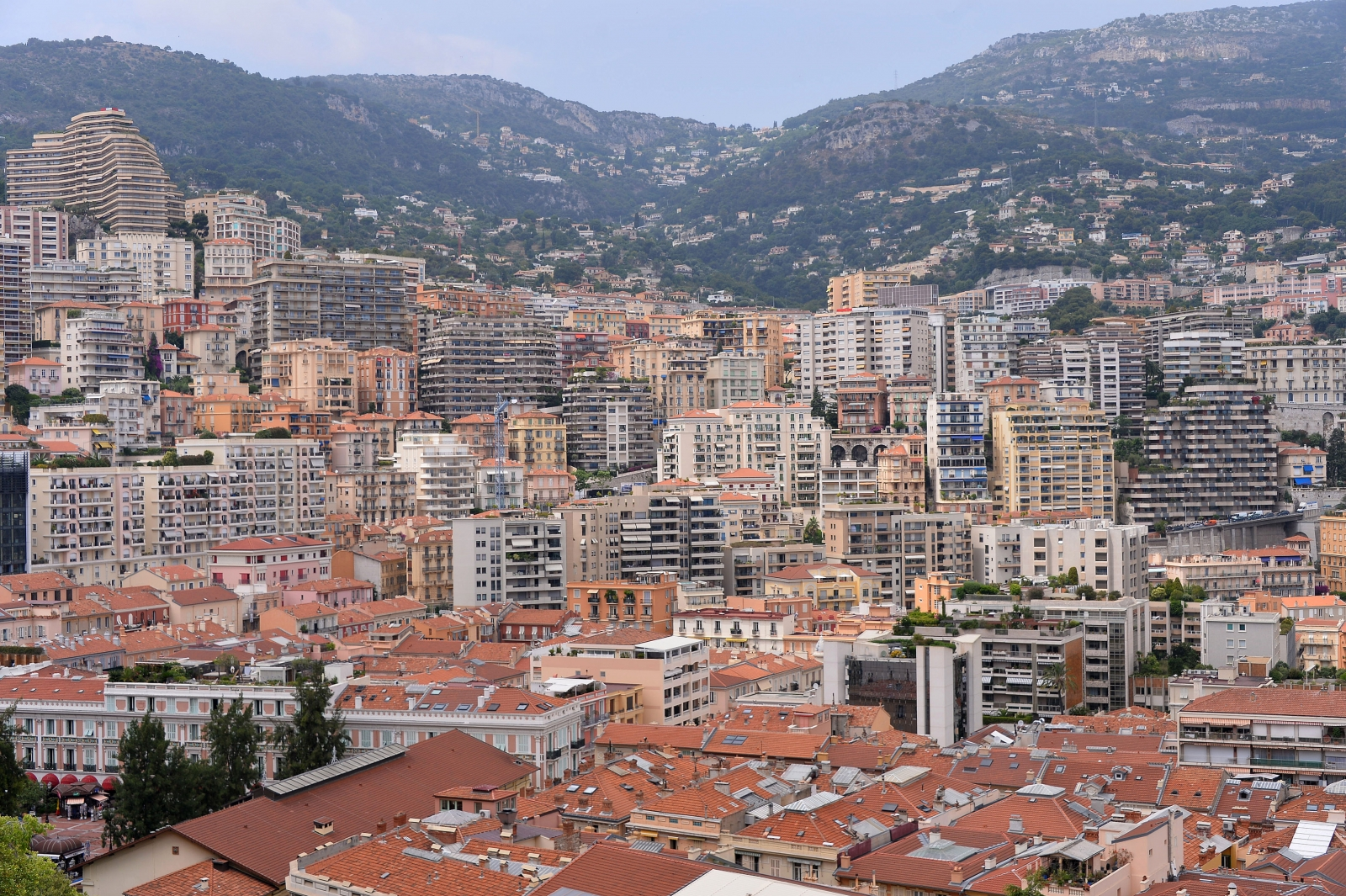 Buildings in Monaco