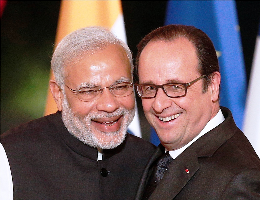 Narendra Modi Francois Hollande
