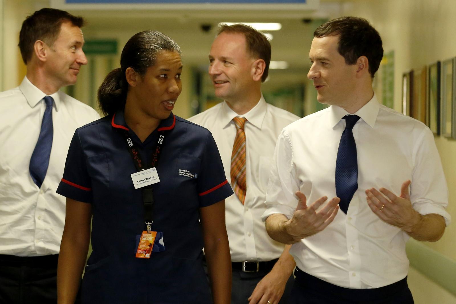 Tories in £8bn NHS pledge