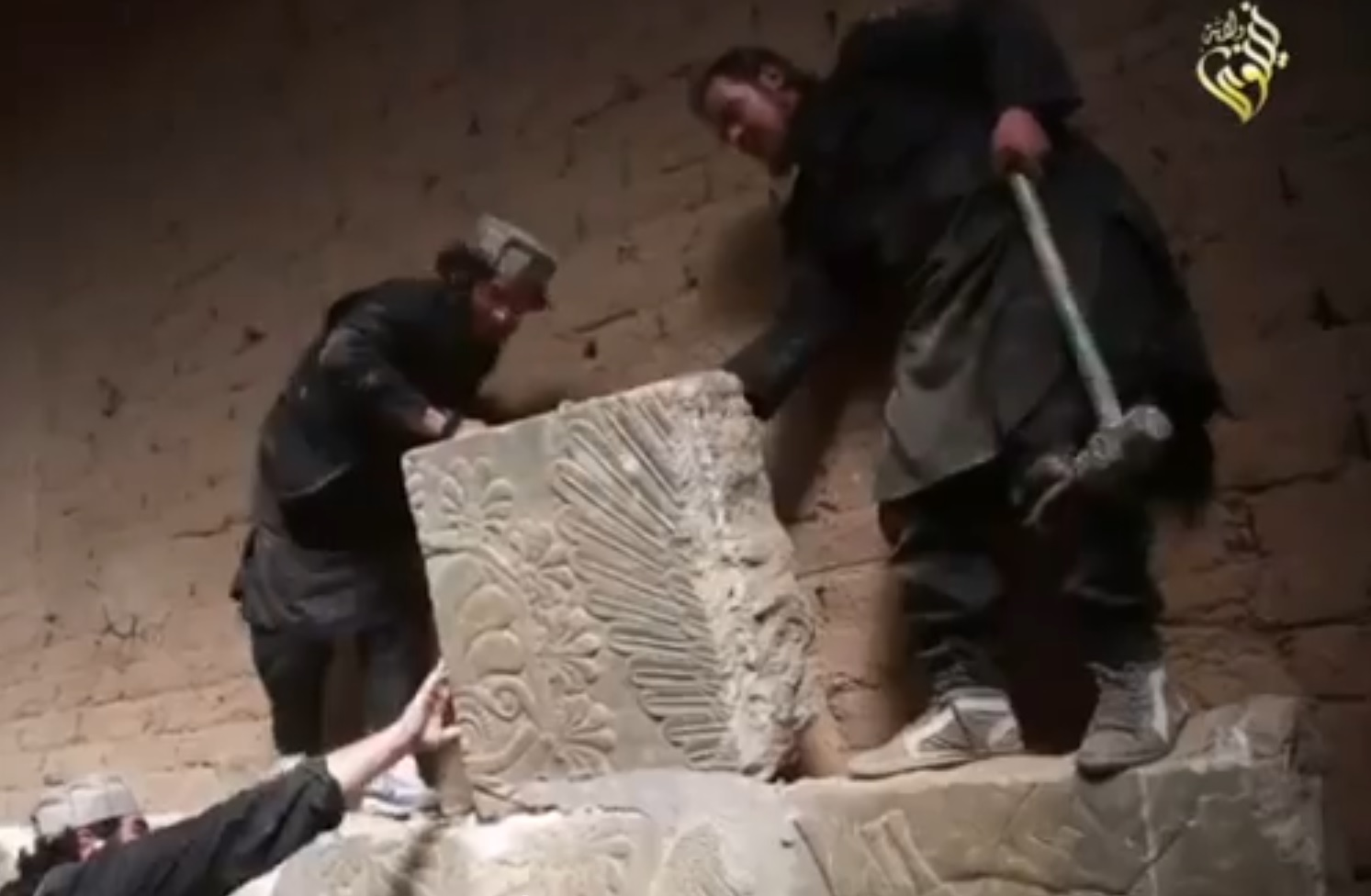 Isis Islamic State Video Shows Ancient City Of Nimrud