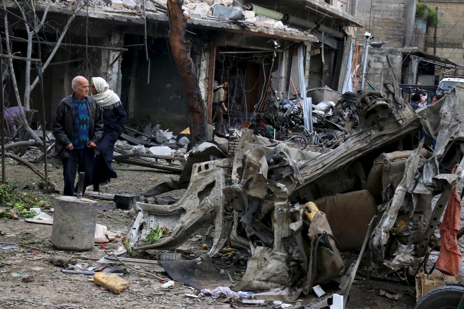 Aleppo aftermath