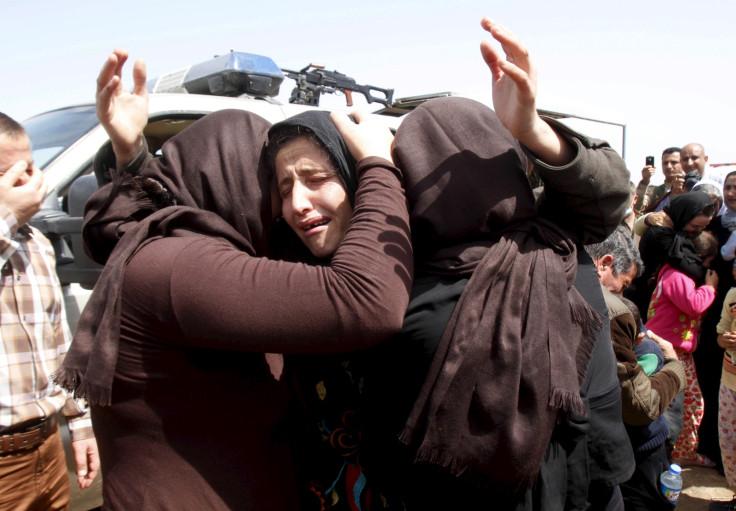 Members of the Yazidi
