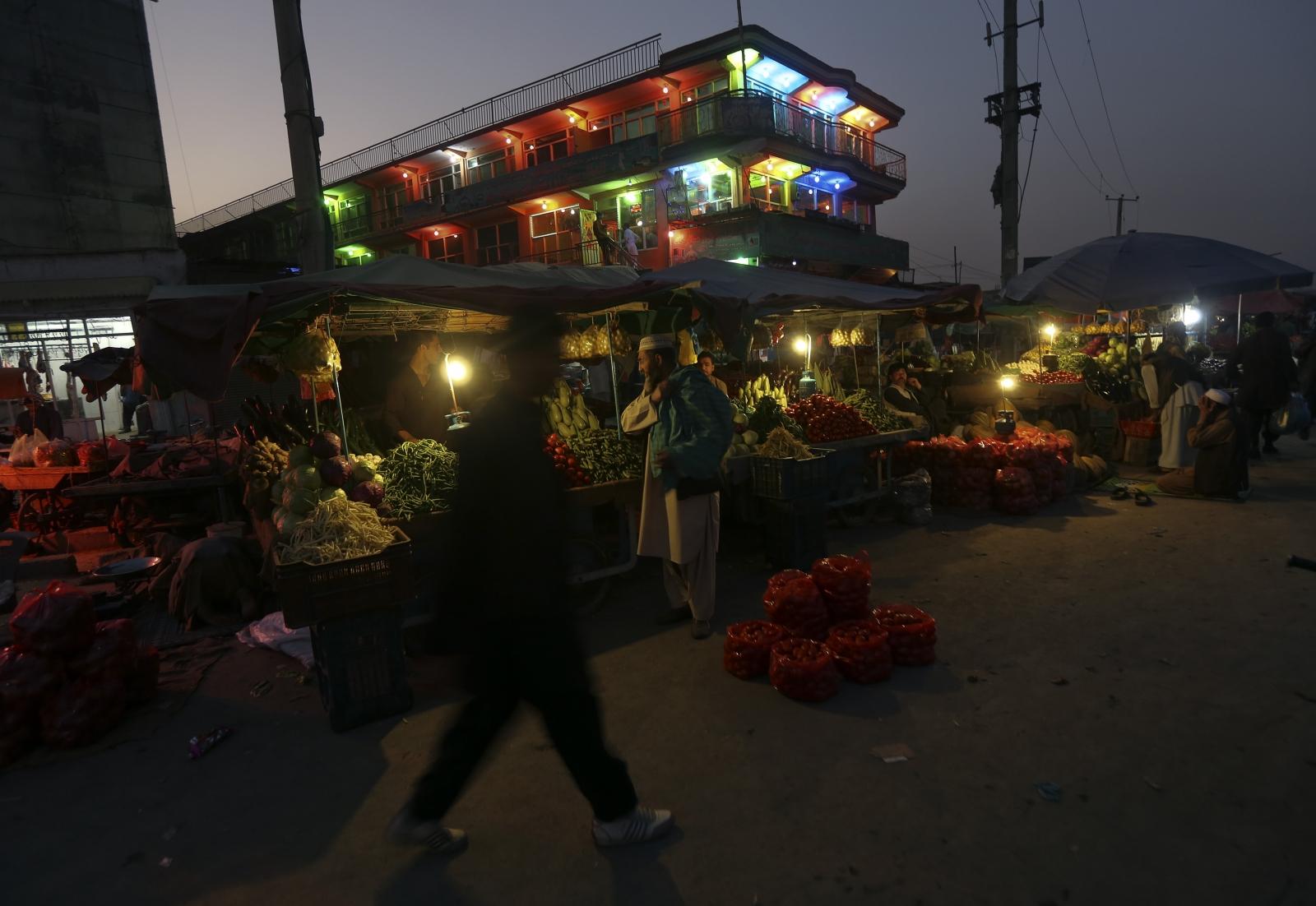 Afghan street food