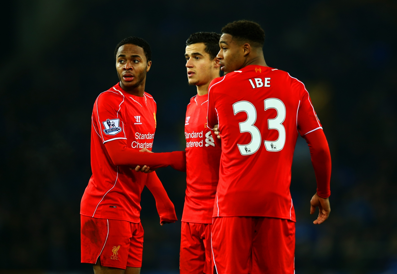 Jordon Ibe and Raheem Sterling