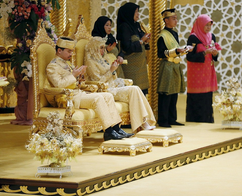 Brunei wedding
