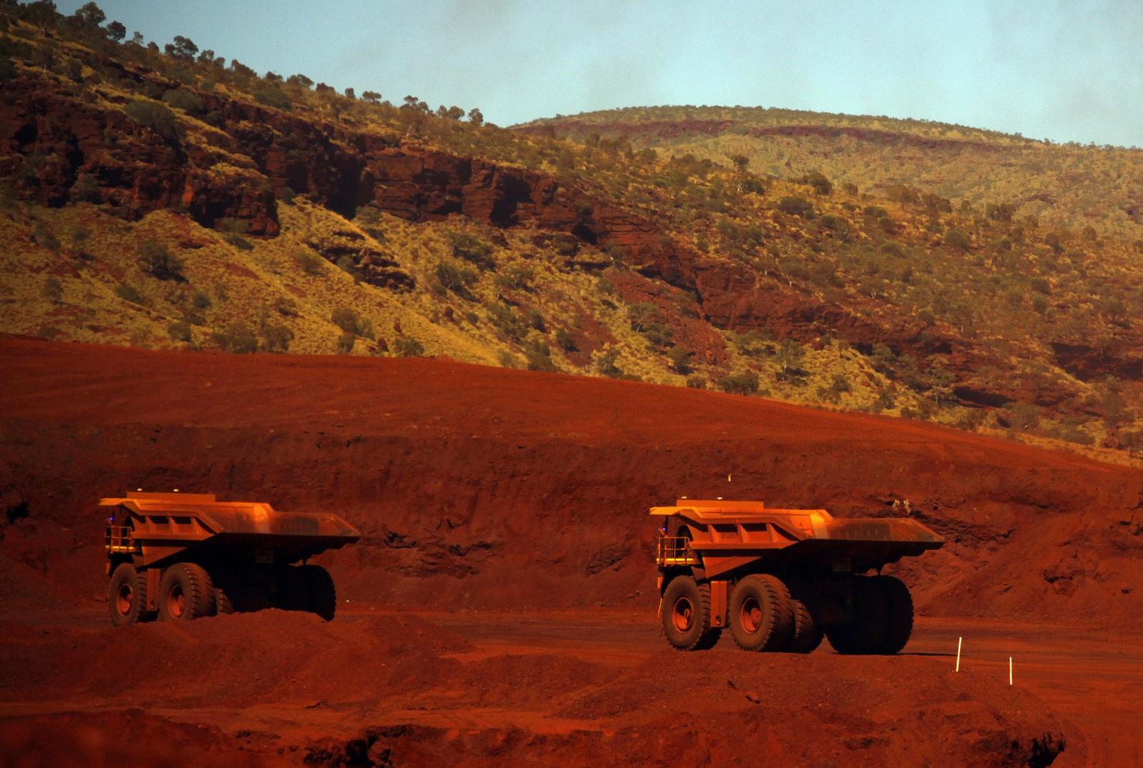 Australia iron ore mining