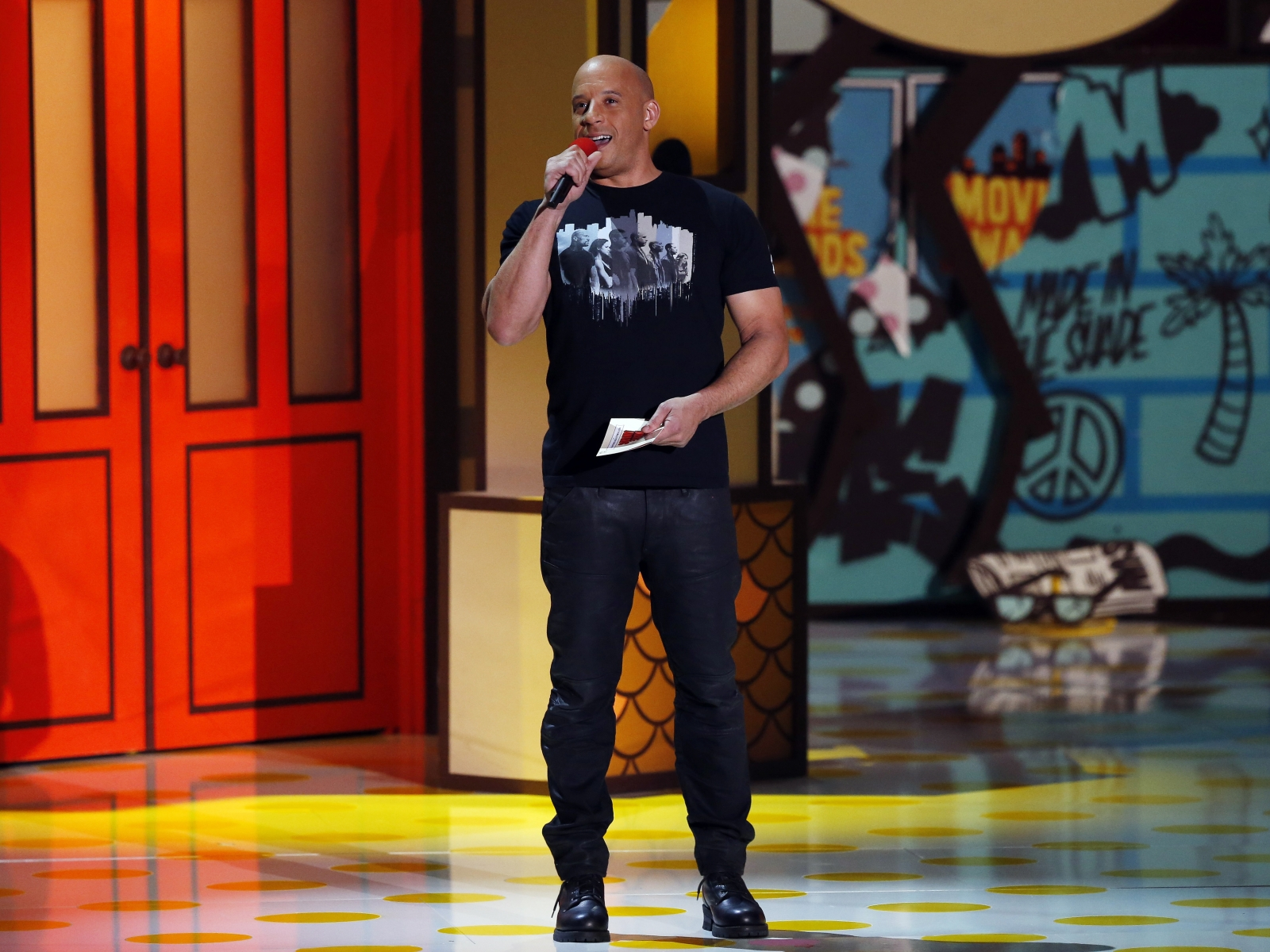 Vin Diesel at the MTV Movie Awards