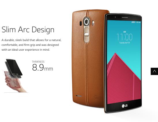 LG G4 pre-order in UK