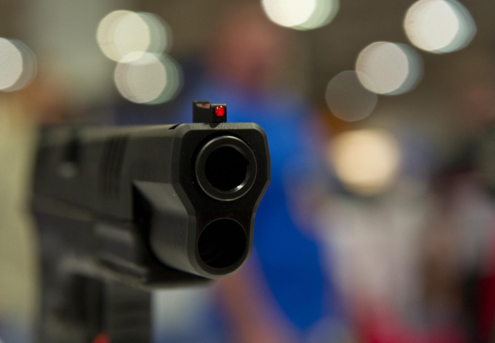 US Gun Violence Cleveland Braylon Robinson