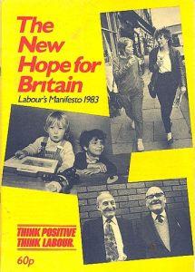 Labour manifesto 1983