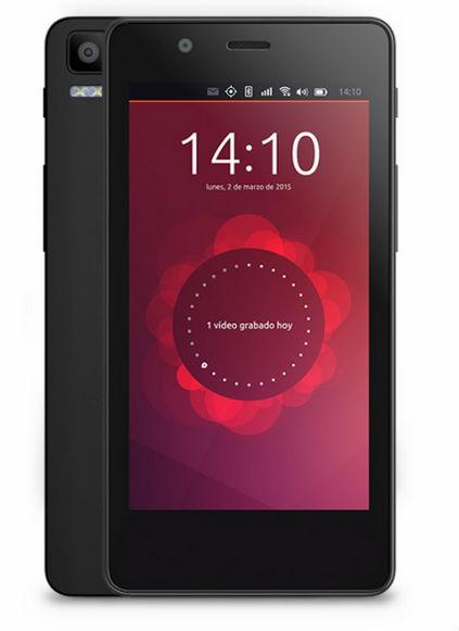 Aquaris E4.5 Ubuntu smartphone