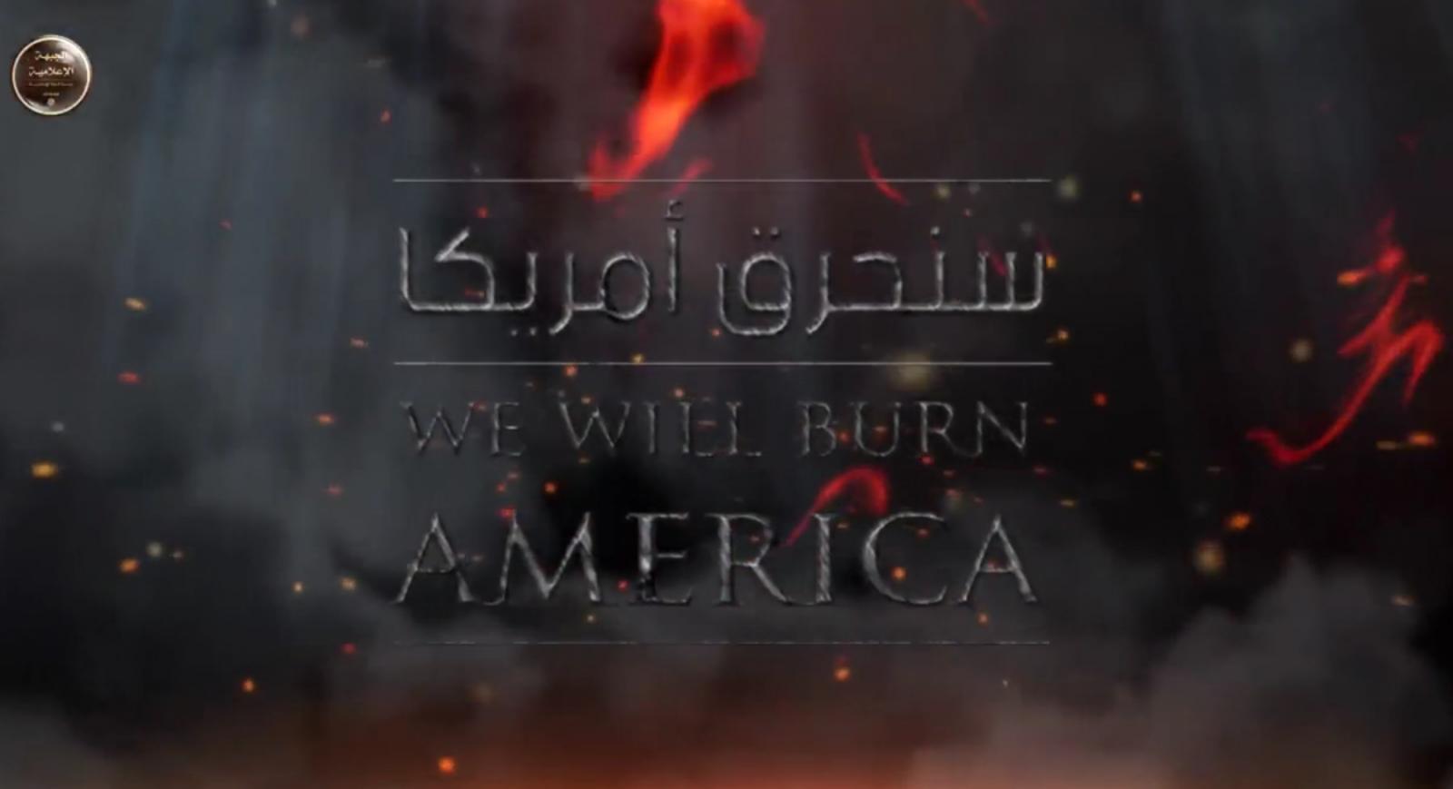 ISIS We will burn America video