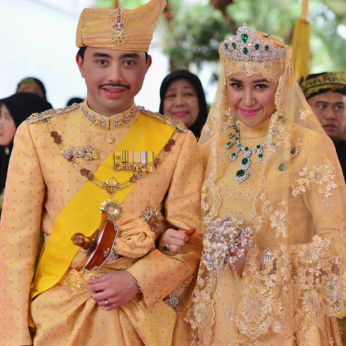 Brunei Royal Wedding: And The Bride Wore Gold, Diamonds