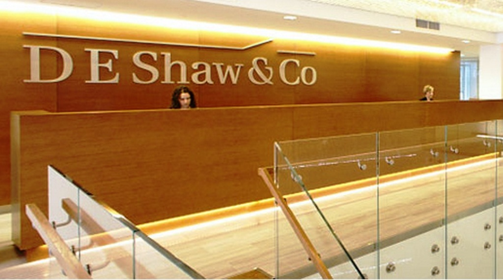 D.E. Shaw-Goldman Sachs Deal