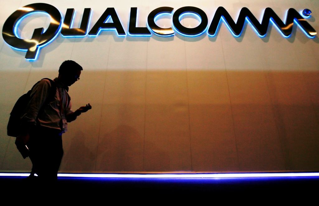Qualcomm Shares Jump on Nasdaq