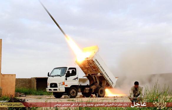 Baiji oil refinery fight Isis