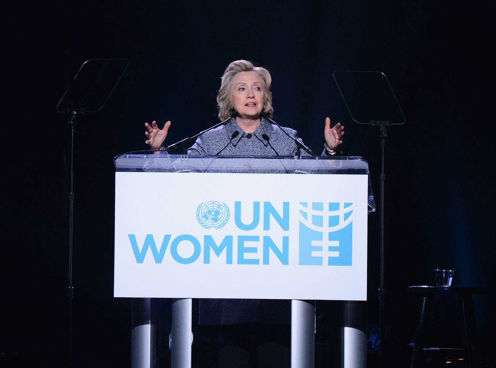 Hillary Clinton UN Women