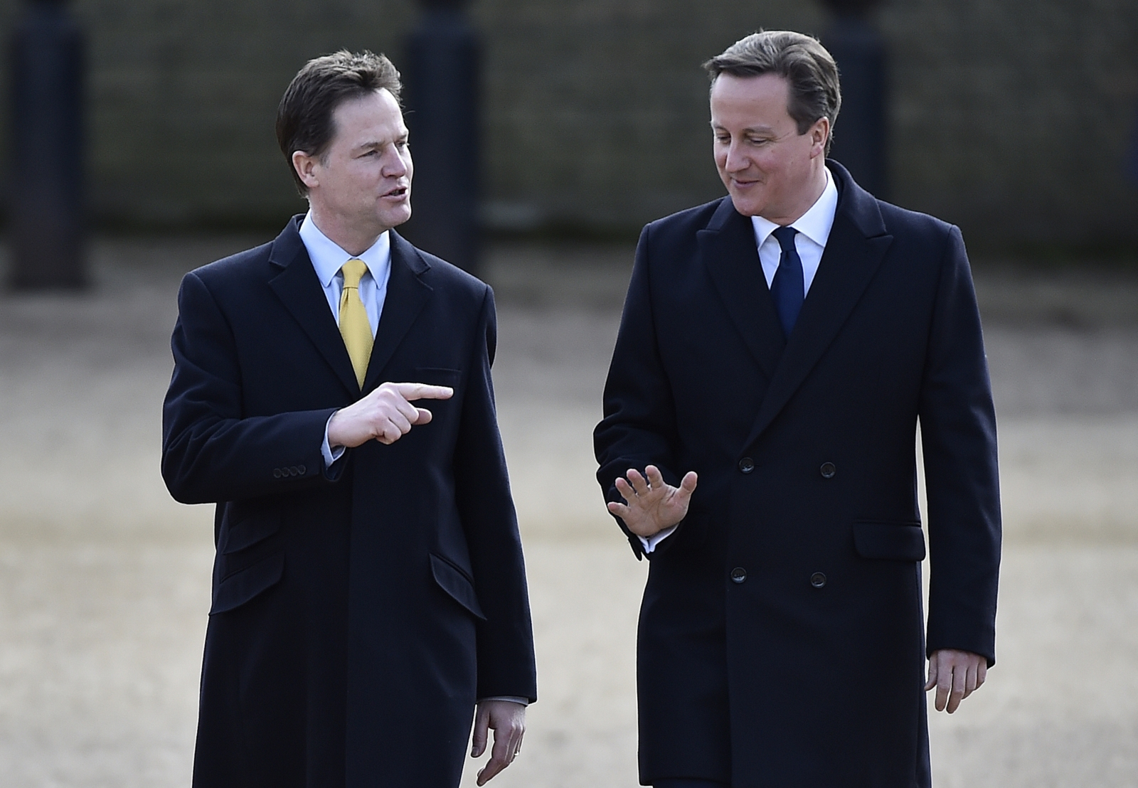 David Cameron Nick Clegg Coalition Summary