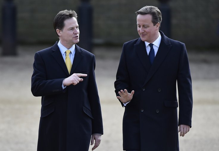 David Cameron Nick Clegg Coalition Summary