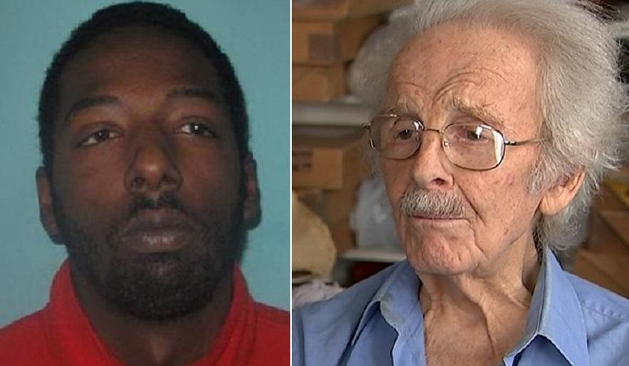 Solomon Bygraves (left) mugged Stanley Evans, 92