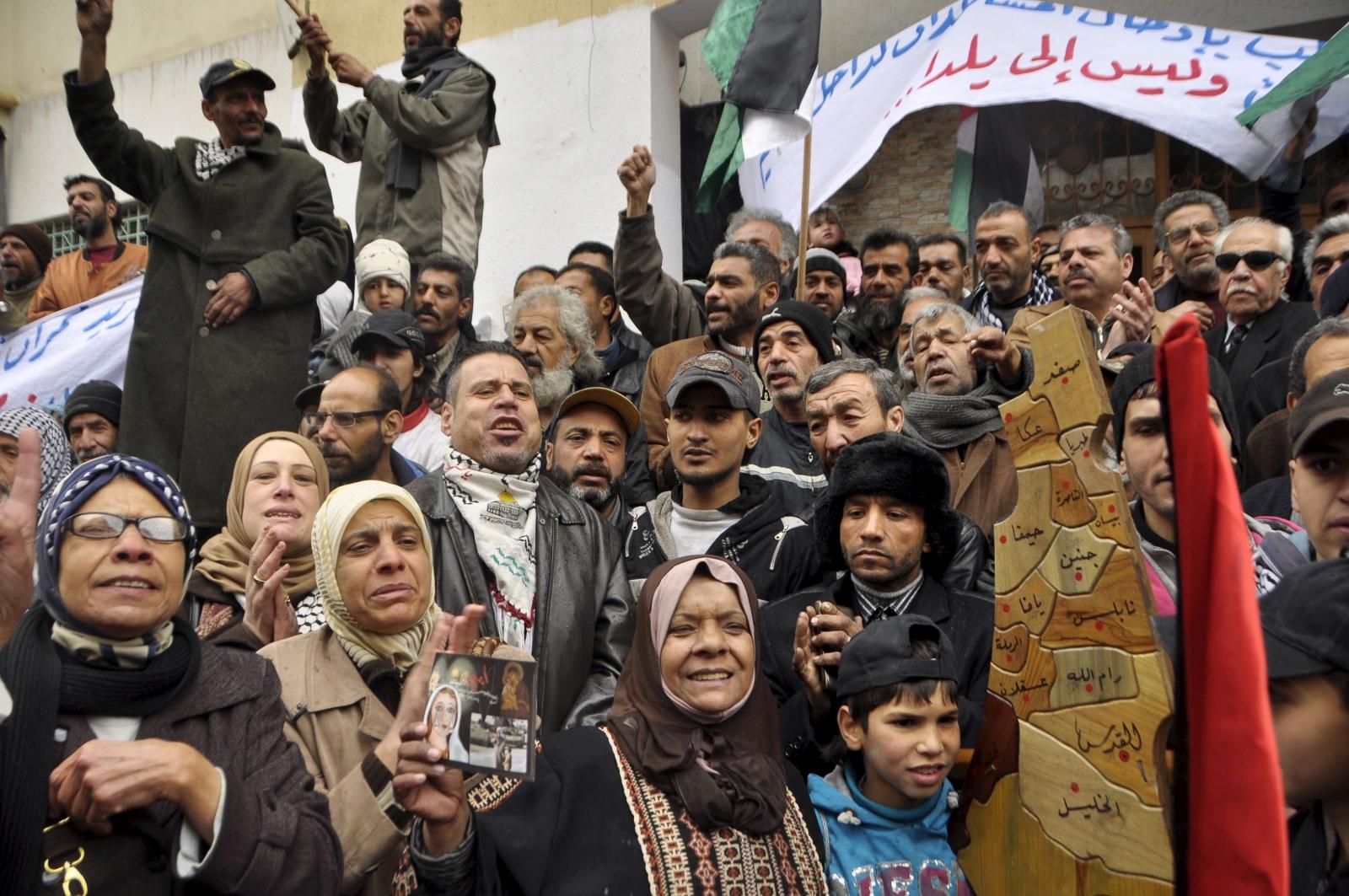 Yarmouk Palestinians