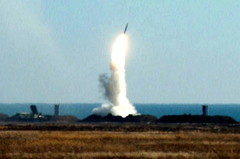 S300 missile launch