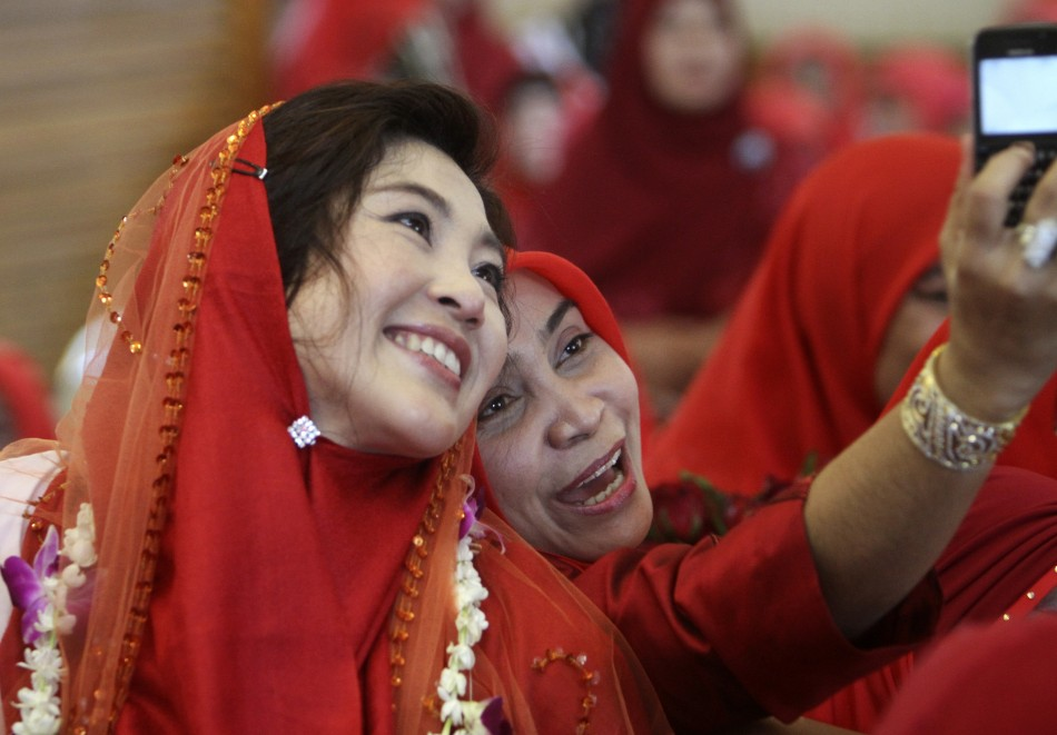 Thailand's new Prime Minister Yingluck Shinawatra of the Puea Thai Party