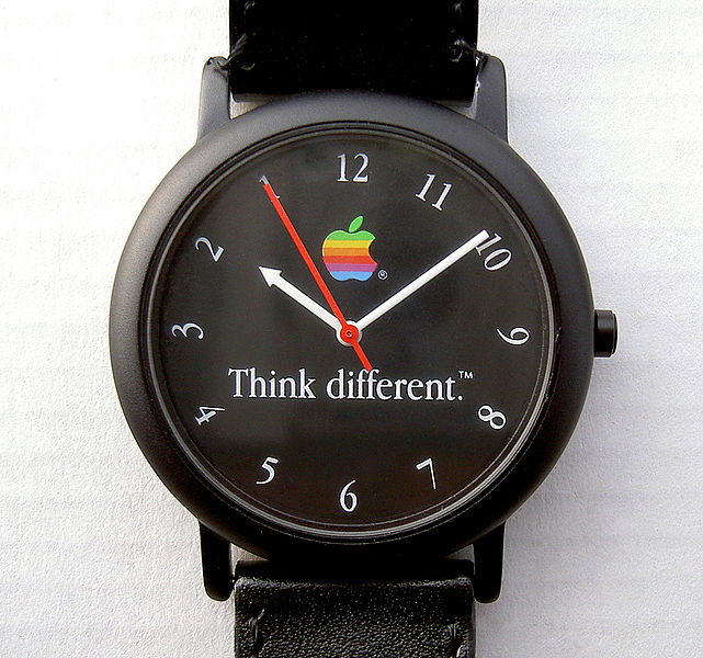 Apple Watch backwards