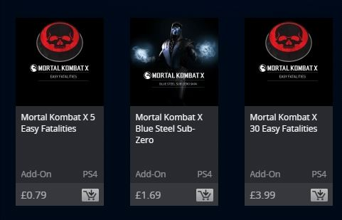 Mortal Kombat Easy Fatalities