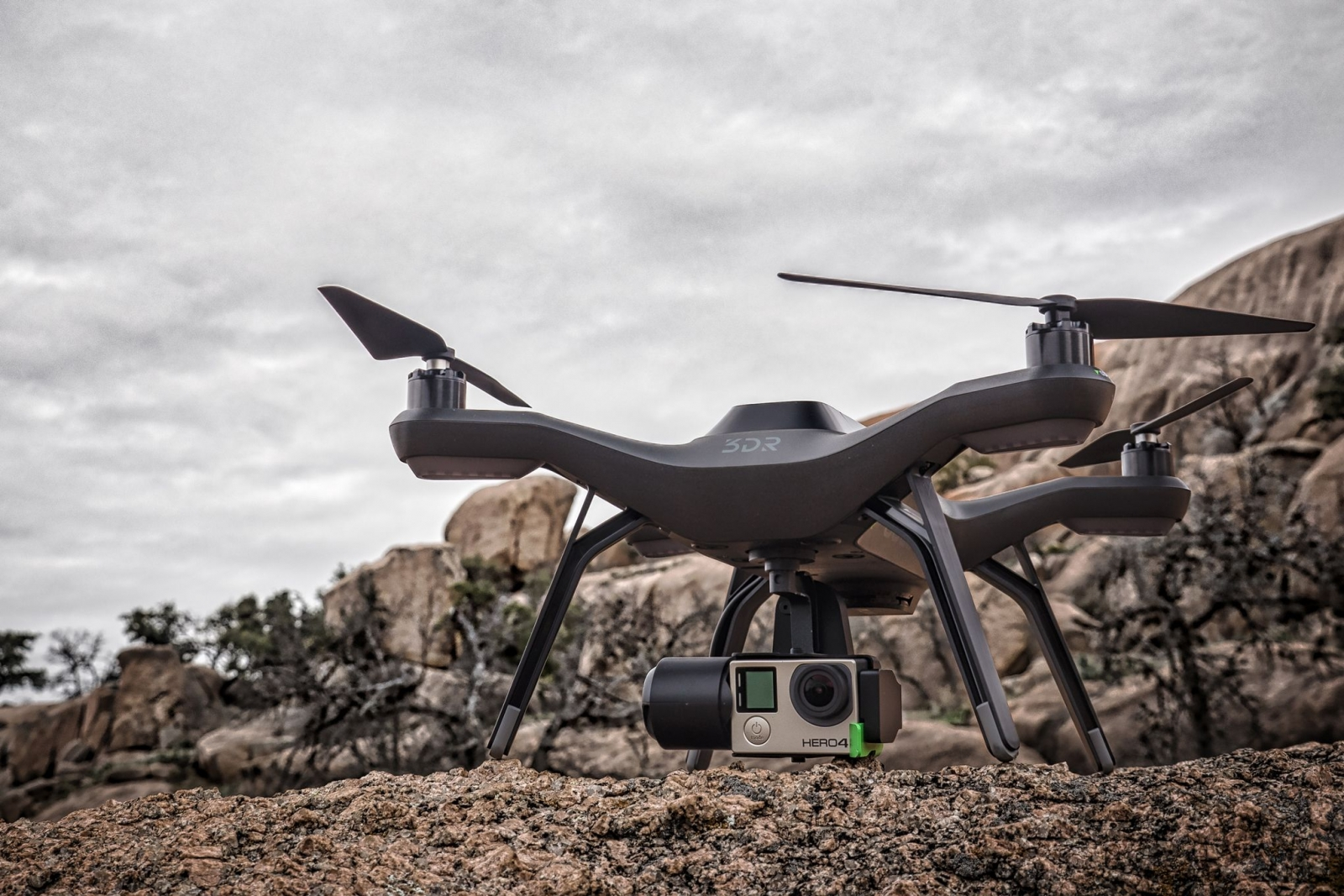 3D Robotics has launched the Solo drone