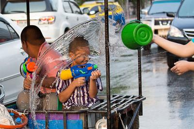 songkran water festival Thailand