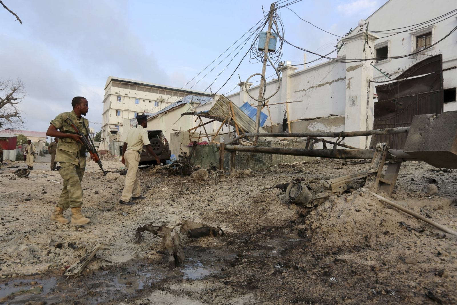 Hotel Mogadishu attack al-Shabaab