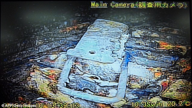 First images from inside Fukushmia reactor