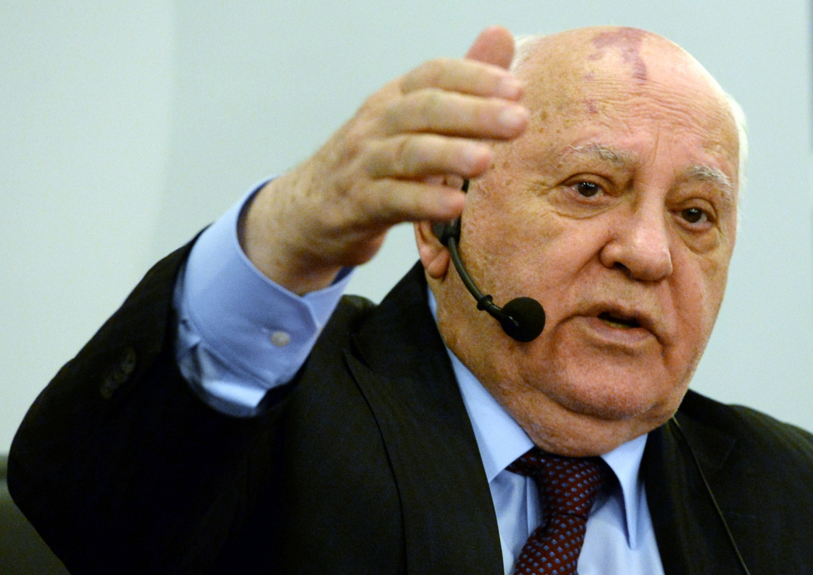 In what year did Gorbachev become president of the USSR