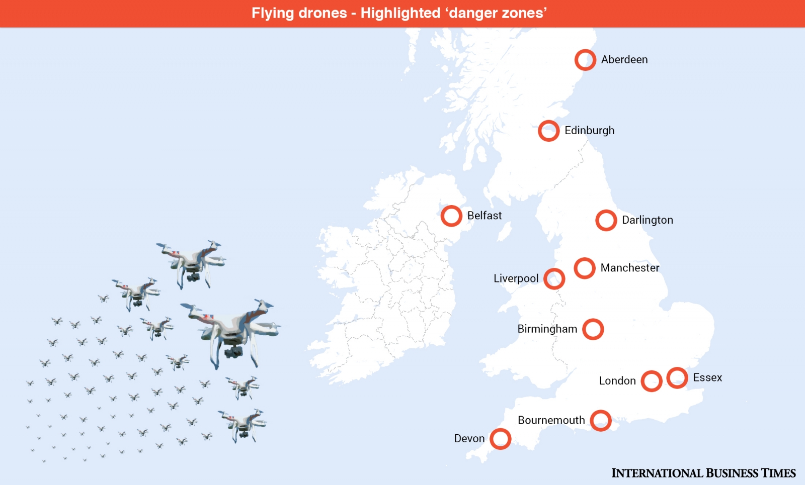 Some No Fly Zones in the UK