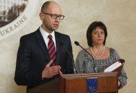 Arseny Yatseniuk Natalia Yaresko