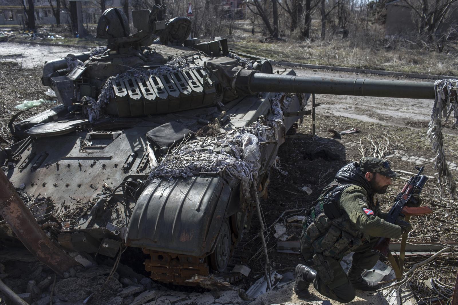 Fighting Donetsk