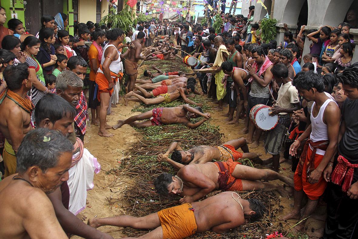 Gajan Hindu festival