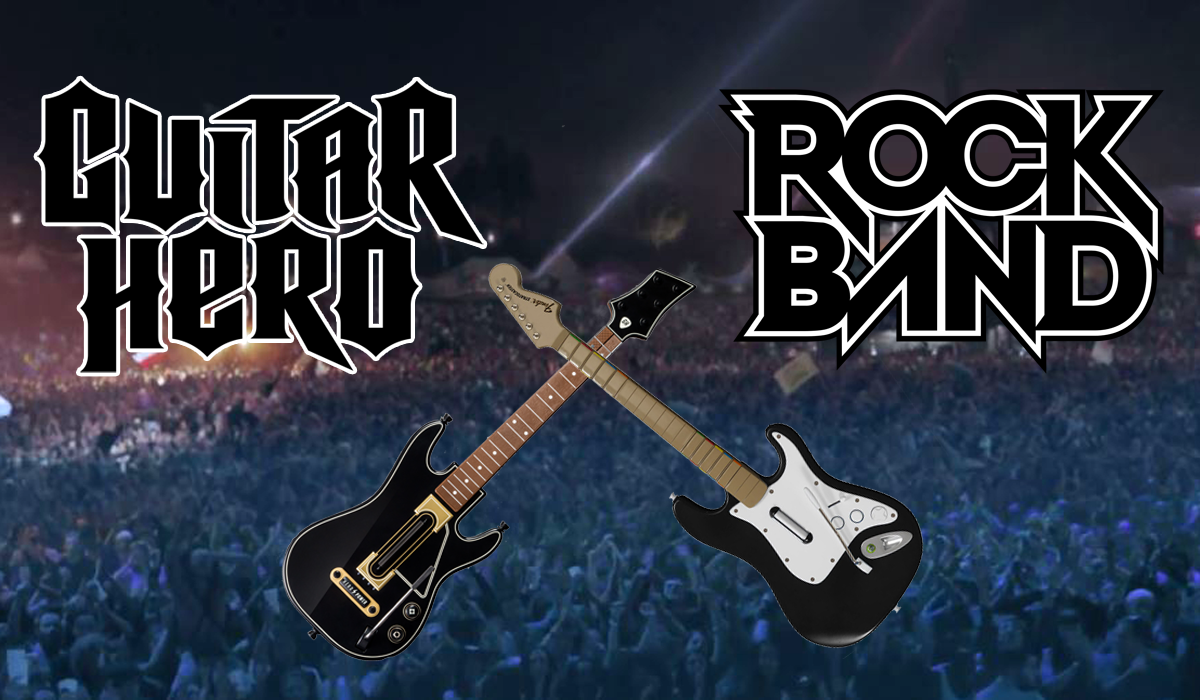 Guitar Hero Live Rock Band 4