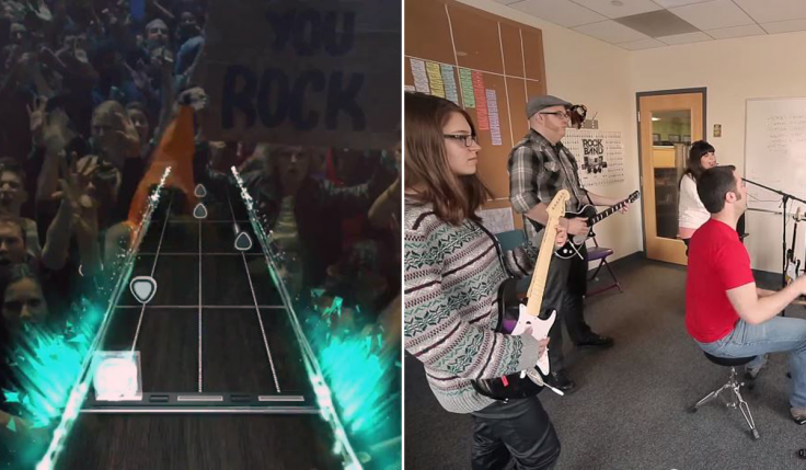 Guitar Hero Live Rock Band 4